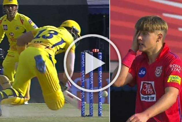 IPL 2019, KXIP Vs CSK: Prodigious Sam Curran Floors Faf Du Plessis With A Deadly Yorker – WATCH