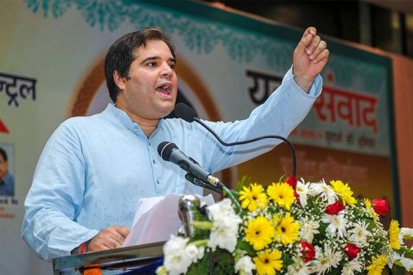 I Am Sanjay Gandhi's Son, Such People Untie My Shoelaces: Varun Gandhi On Oppn Candidate In Sultanpur