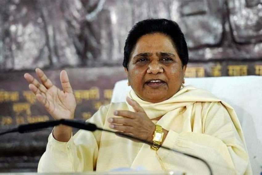 'Frustrated' BJP Trying To Create Fissures In SP-BSP Alliance, Alleges Mayawati