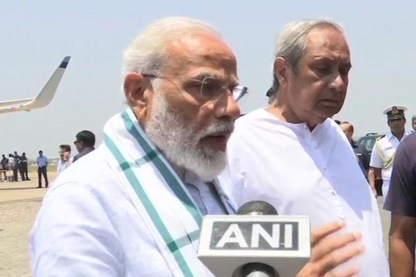 PM Modi Conducts Aerial Survey Of Cyclone Fani-Damaged Odisha, Says 'Naveen Patnaik Has Done Great Work'