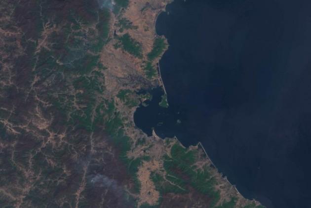 New Satellite Image Reveals North Korean Missile Launch