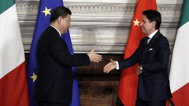 Italy Joining China's Belt And Road Initiative Shows Tide Is Turning For The West