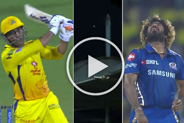 IPL 2019 Qualifier 1, MI Vs CSK: MS Dhoni Makes Mockery Of Lasith Malinga's Yorkers, Hits Successive Huge Sixes – WATCH