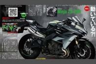 Kawasaki Working On A 4-Cylinder 250cc Ninja