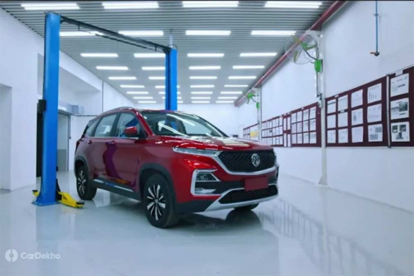 MG Hector Production Starts; Pre-Launch Bookings To Open In June