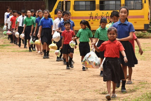 A School Of A Different Kind, That Accepts Plastic Waste As Fee