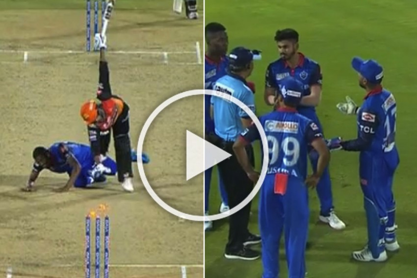 IPL 2019 Eliminator, DC Vs SRH: Rishabh Pant Overrules Captain Shreyas Iyer After Bizarre Deepak Hooda Run Out – WATCH