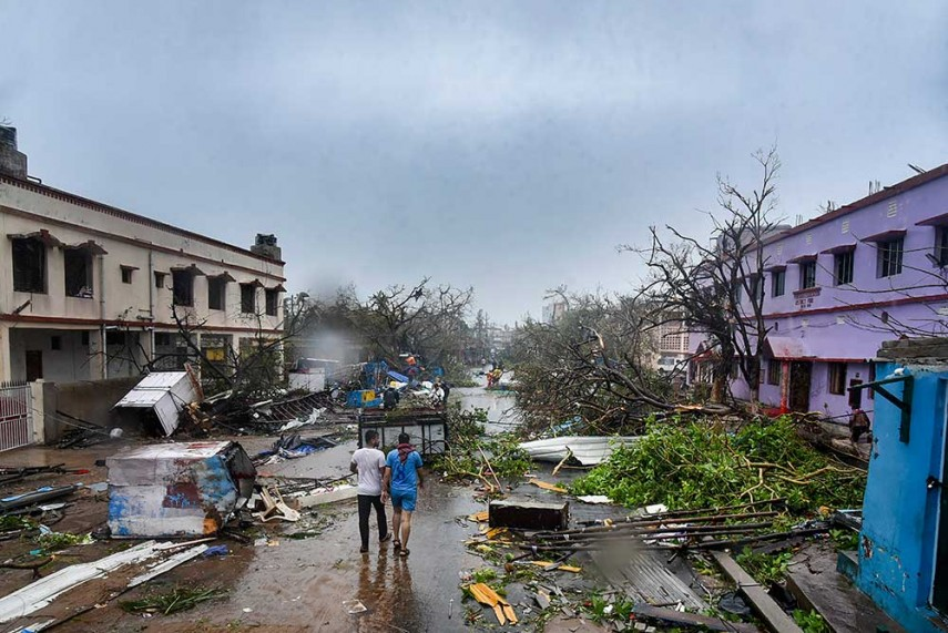 Spoken Too Soon: Is Praise For Odisha For Tackling Cyclone
