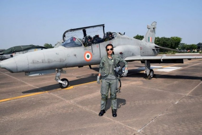 Flight Lieutenant Mohana Singh Becomes First Woman Fighter Pilot To Fly Hawk Jet