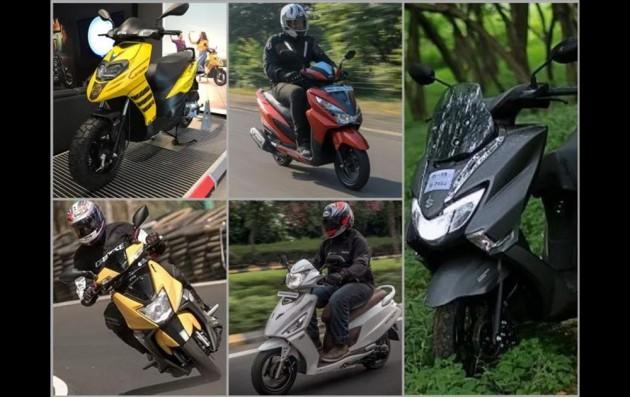 Aprilia Storm 125 Vs Honda Grazia Vs TVS NTorq 125 Vs Hero Maestro Edge 125 Vs Suzuki Burgman Street: Spec Comparison