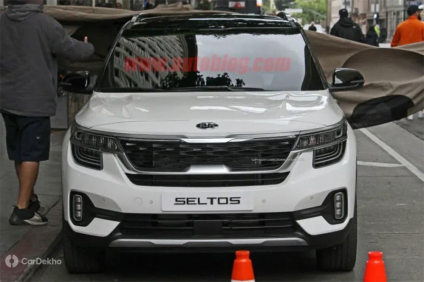 Kia SP2i Spotted In The Flesh; Bears The Name Seltos