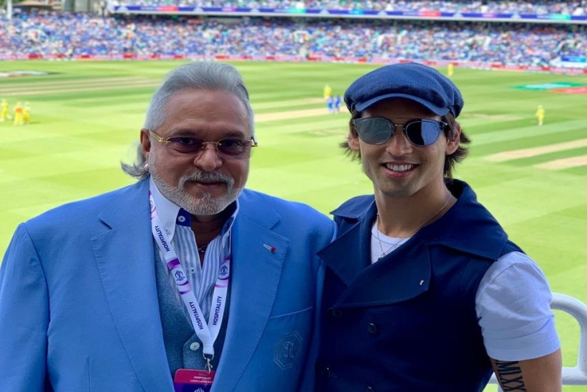 Crowd Bids Goodbye To Vijay Mallya With 'Chor Hai' Chants After India's Game Against Australia At Oval