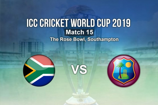 South Africa Vs West Indies, ICC Cricket World Cup 2019 Highlights: Match Abandoned, Proteas Finally Get A Point