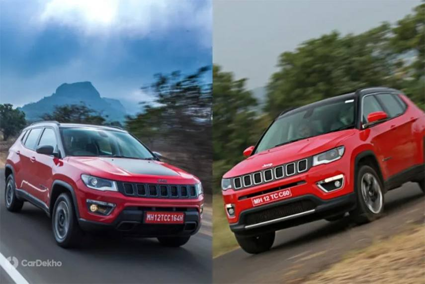 Jeep Compass Trailhawk Vs Compass Major Differences