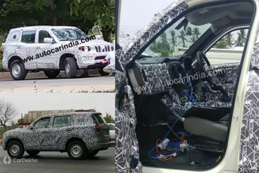 Next-Gen Mahindra Scorpio Interior Spied For The First Time