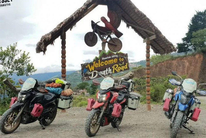 Bajaj Dominar Becomes First Indian Bike To Be Ridden From The Arctic To Antarctica