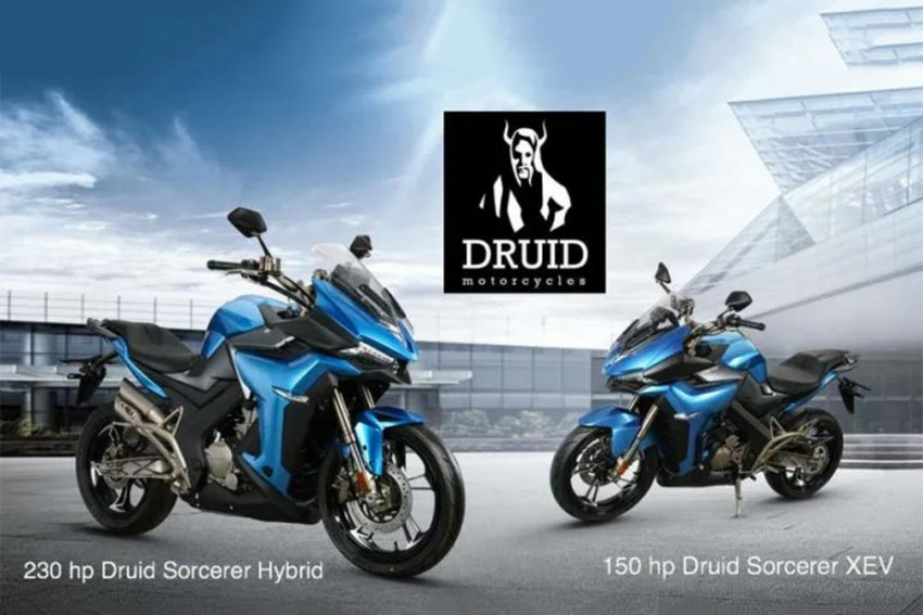 Druid's Upcoming E-Bike Eats Litre-Class Superbikes For Breakfast