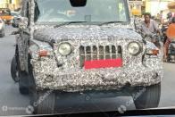 New Spy Shots Of Mahindra Thar Reveal Premium Interiors