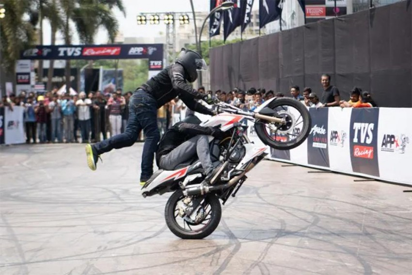 TVS Apache Pro Performance X: A Record-Breaking Feat Achieved!