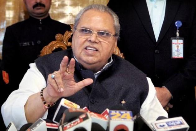J&K Governor Satya Pal Malik Urges Militants To Give Up Arms, Invites Them For Talks