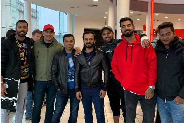 Cricket World Cup 2019: Hardik Pandya, MS Dhoni, KL Rahul, Shikhar Dhawan, Kedar Jadhav Watch Bharat, Salman Khan Responds