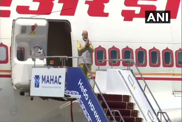 PM Modi Arrives In Bishkek For SCO Summit