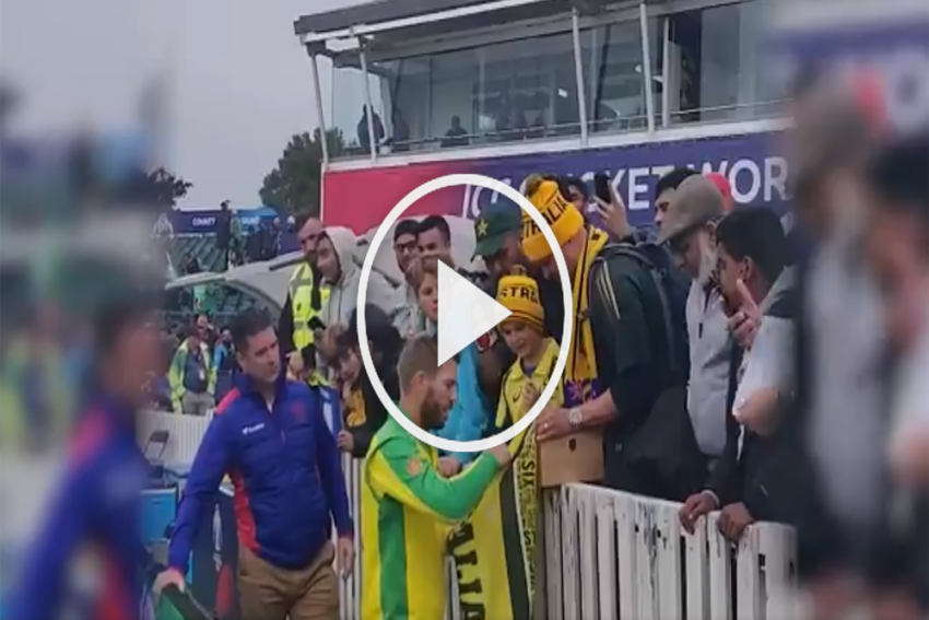 Cricket World Cup 2019, AUS Vs PAK: David Warner Surprises Young Fan With A Great Gesture – WATCH