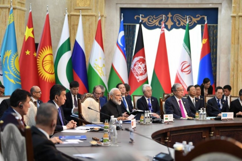At SCO Summit, PM Modi Hits Out At Trade Protectionism