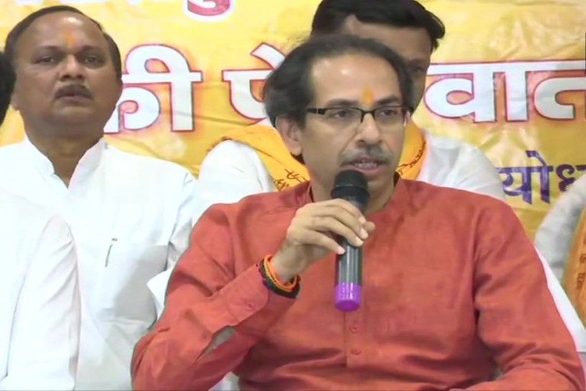 Uddhav Thackeray, Party MPs Offer Prayers To Ram Lalla In Ayodhya