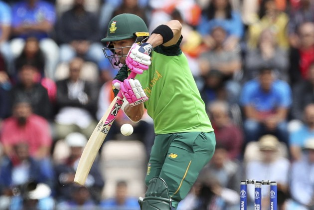 Faf Du Plessis Says A Weight Has Been Lifted After South Africa's First Win At Cricket World Cup