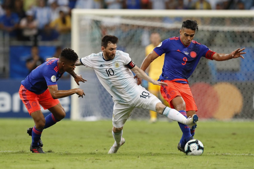 Copa America: Lionel Messi's Argentina Fall To Pressure From Colombia