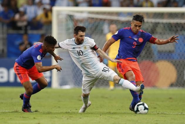 6ba10d50e Copa America: Lionel Messi's Argentina Fall To Pressure From Colombia