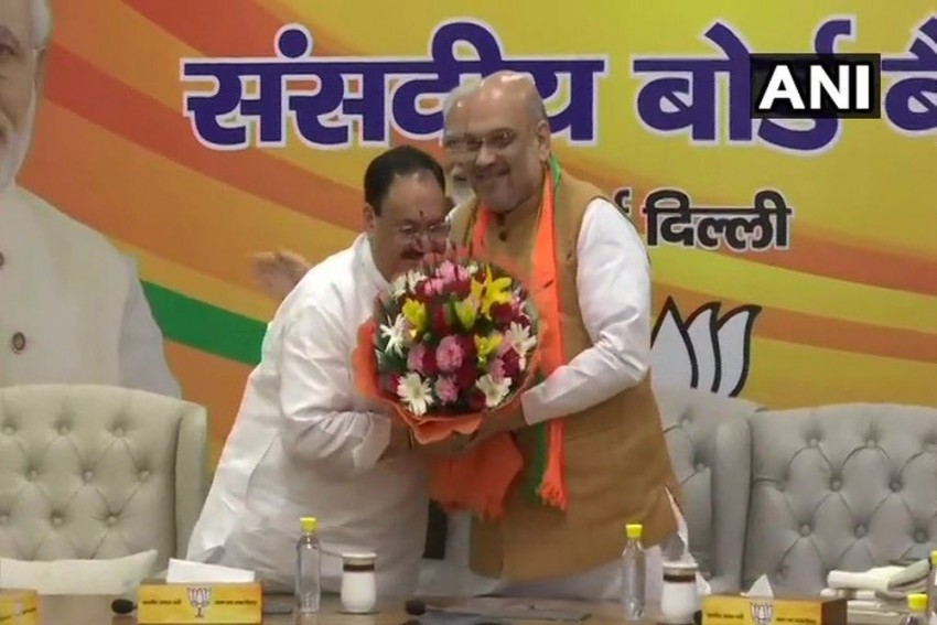 JP Nadda Becomes BJP Working President, Amit Shah To Continue As Party Chief