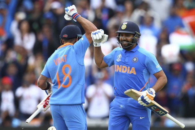 India Vs Pakistan: Rohit Sharma Show Has India Fans Purring But Virat Kohli Dominates The Manchester Cheers