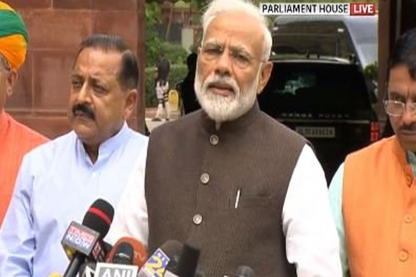 'Don't Bother About Numbers': PM Modi To Opposition Ahead Of Parliament Session
