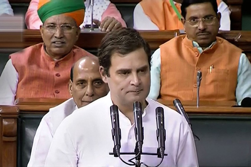 Rahul Gandhi Takes Oath As MP, Forgets To Sign Parliament Register