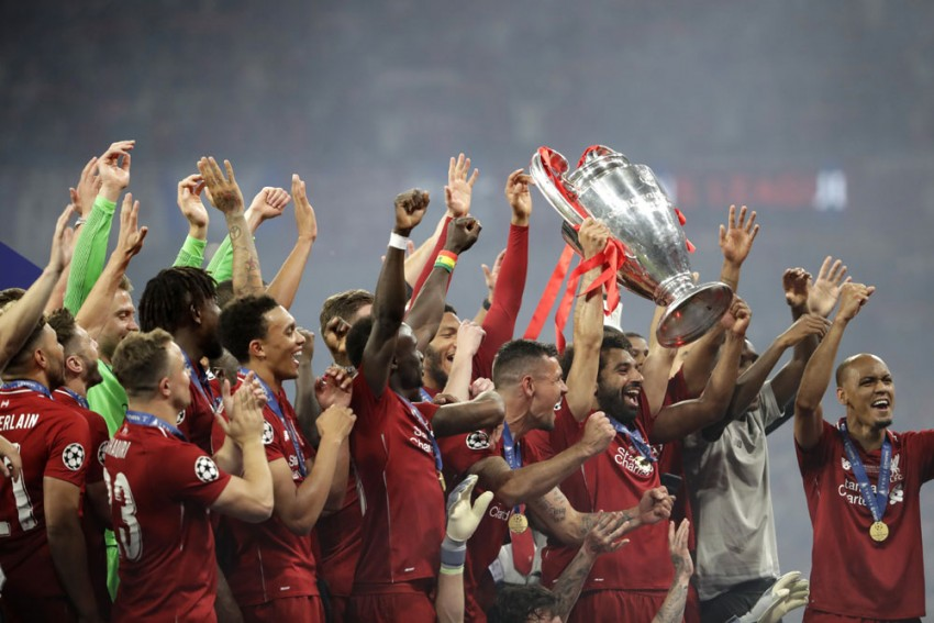 Liverpool Are European Champions For Sixth Time; Beat Tottenham 2-0 In Champions League Final