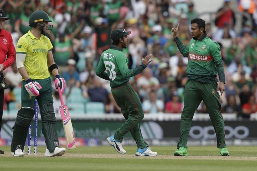 ICC World Cup 2019, South Africa Vs Bangladesh, Highlights: BAN Secure 21-Run Win