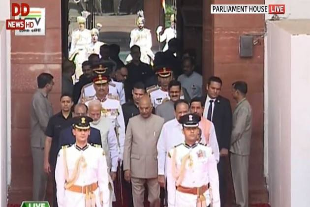 Live: 'National Security My Govt's Top Priority,' Says Prez Kovind In Joint Parliament Address