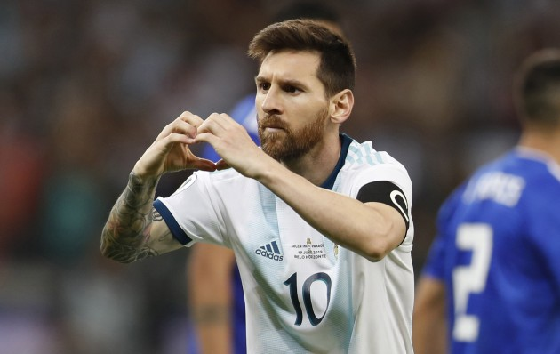 Copa America: Lionel Messi Penalty Rescues A Point For Argentina In Draw Against Paraguay