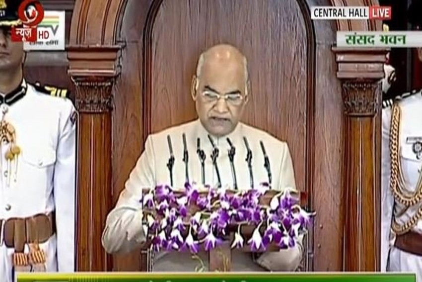 'World Stands With India On Issue Of Terrorism,' Says President Kovind In Joint Parliament Address