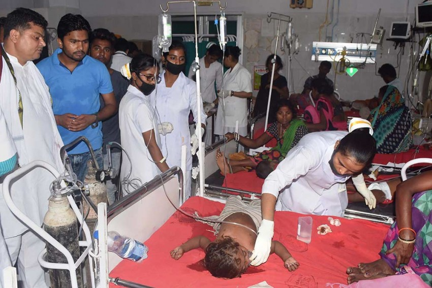 Death Toll Due To Acute Encephalitis Mounts To 115 In Bihar; PIL Urges State Govt To Act