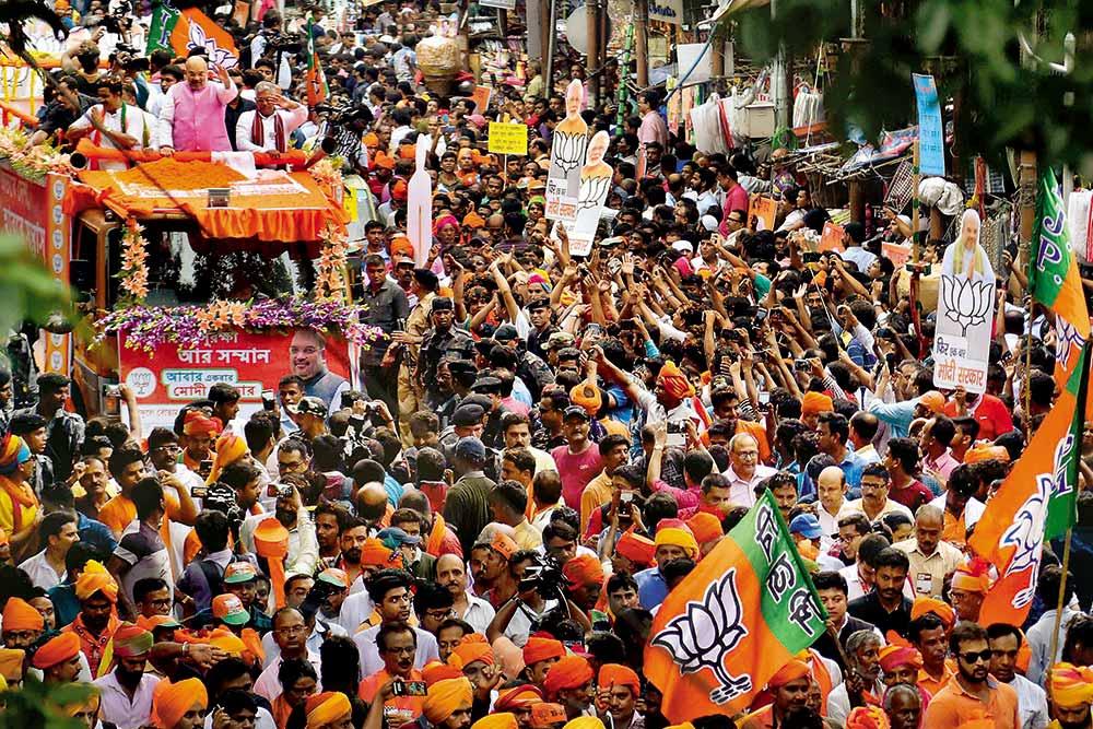 Target 250 in 2021! Narendra Modi's 'Sonar Bangla' Vision To Counter Mamata Banerjee's 'Joi Bangla' Pride, Says BJP