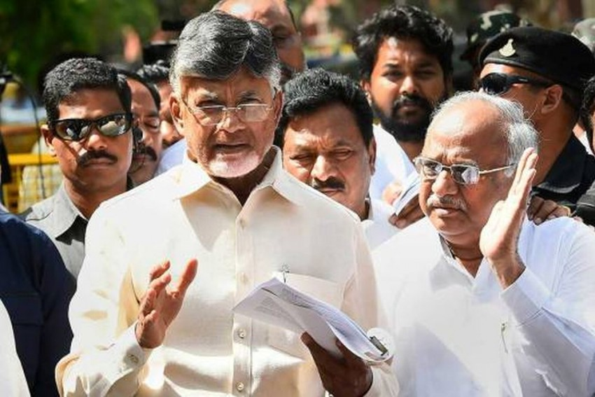 After Four TDP MPs Join BJP, Chandrababu Naidu Says, 'Crisis Not New To Party'