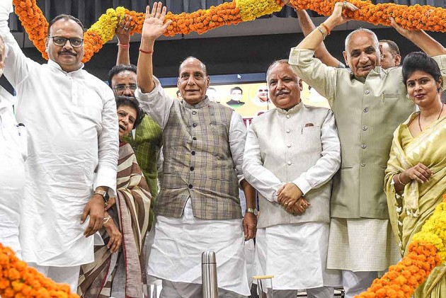 BJP's Performance In UP A Miracle, It Surprised Many Even Within Party: Rajnath Singh