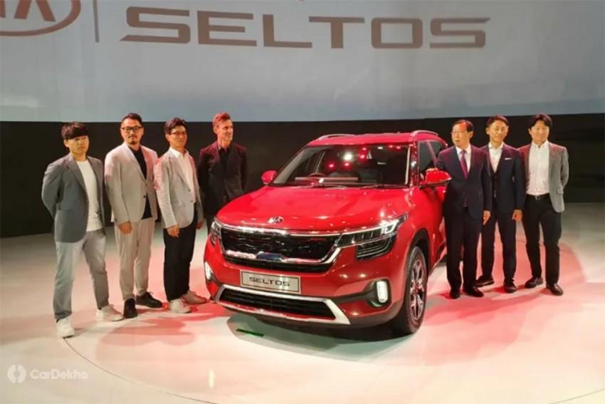 Kia Unveils Seltos In India, Packs It With Premium Features