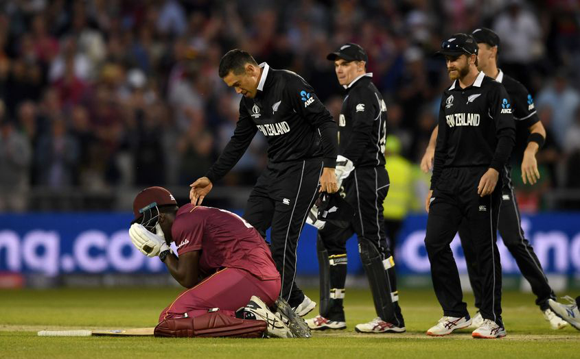 Ton-Up Carlos Brathwaite Devastated As West Indies Fall Agonisingly Short Vs New Zealand In Cricket World Cup