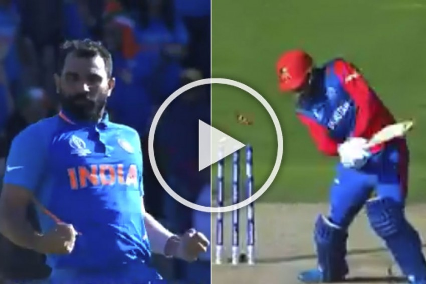 IND Vs AFG, ICC Cricket World Cup 2019: Historic Moment! WATCH Mohammed Shami's Sensational Hattrick Against Afghanistan – VIDEO