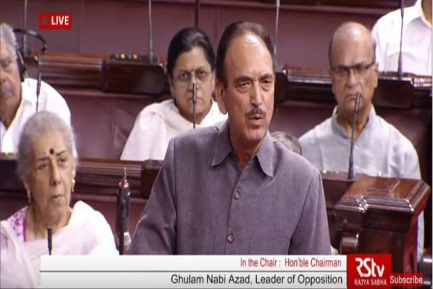 'Give Us Our Old India Where Hindus Felt Muslims, Dalits' Pain': Ghulam Nabi Azad To BJP