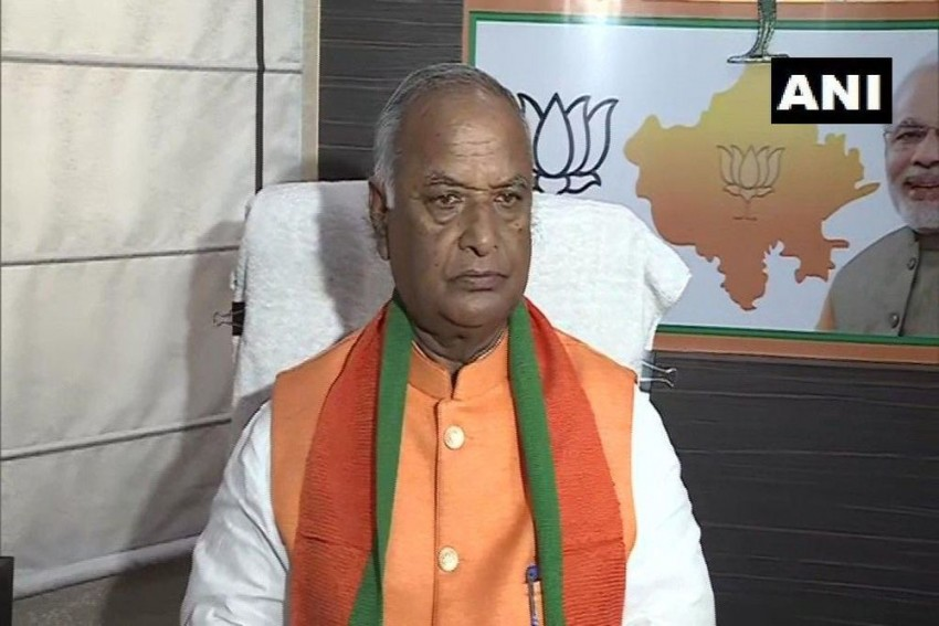 Madan Lal Saini, Rajasthan BJP Chief, Dies At 75